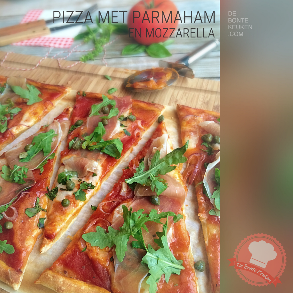 Pizza parmaham