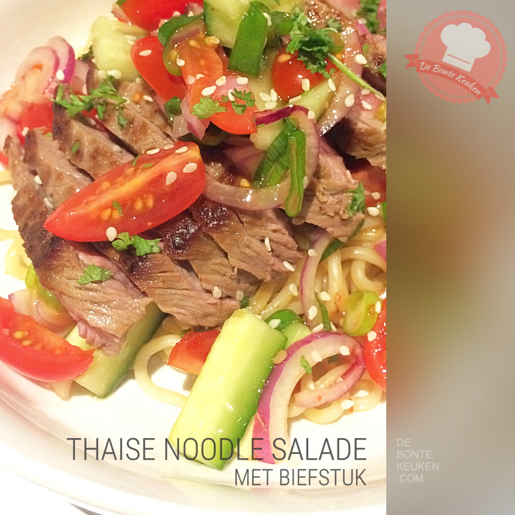 Thaise noodle salade