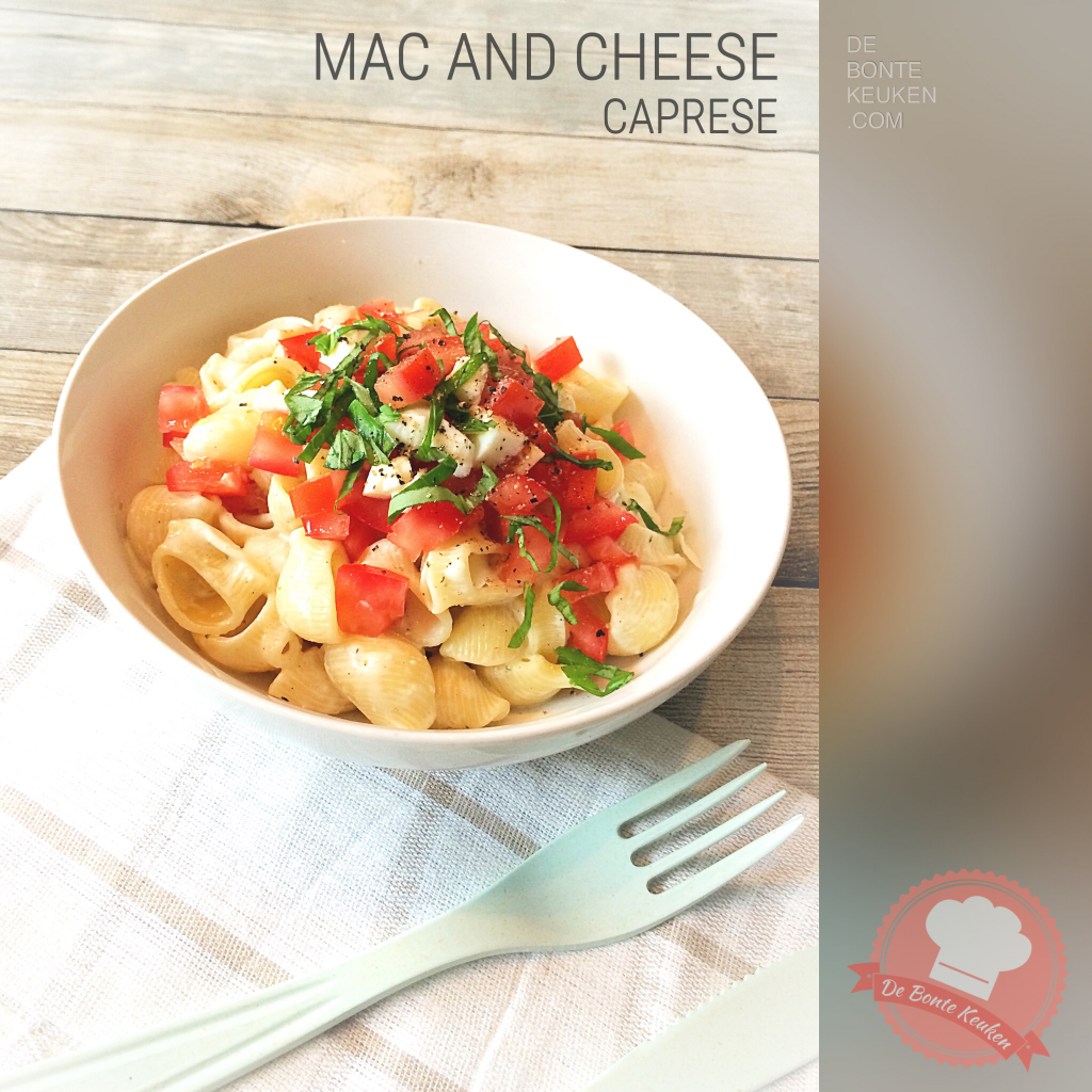 Mac and cheese Caprese